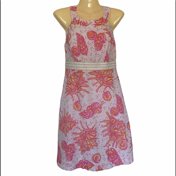 Lilly Pulitzer Tinsley Conch Shell Print Dress